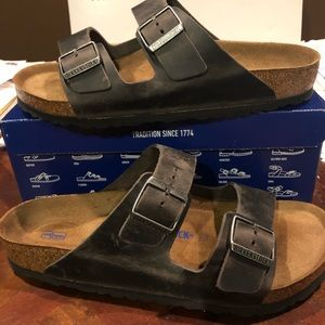 Birkenstock Arizona iron leather asst medium
